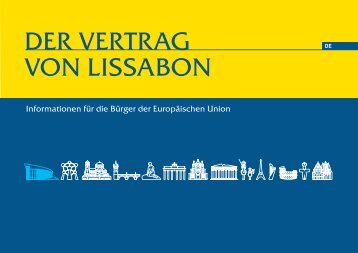 DER VERTRAG VON LISSABON - Europaforum Luxembourg