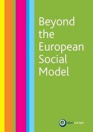 Beyond the European Social Model - Europainstitut