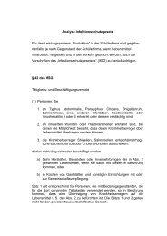 Analyse Infektionsschutzgesetz Für den Leistungsprozess ...