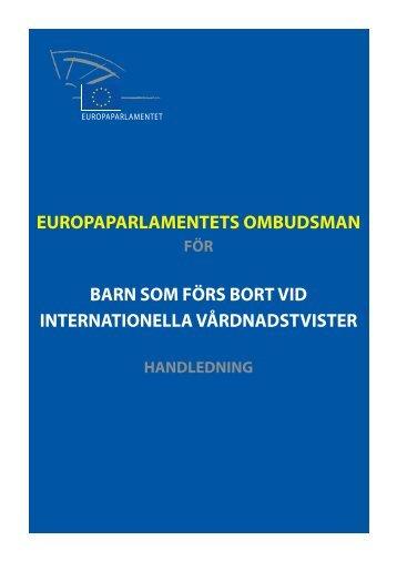 Handbook - Europa