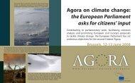 About the Agora - European Parliament - Europa