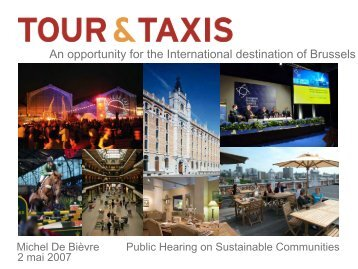 An opportunity for the International destination of Brussels
