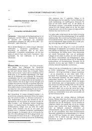 SAMMANTRÄDET TORSDAGEN DEN 3 JULI 2003 - Europa