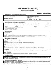 Chemtox Miljøsystem 5.x - Print - EUROPART - europart.de