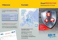 Flyer RoadProtector_DK.qxp:Layout 1 - EUROPART - europart.de