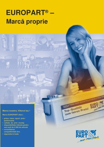Europart - Marcă proprie - EUROPART - europart.de