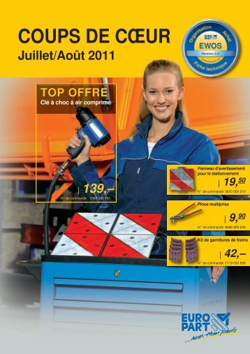 COUPS DE CŒUR - EUROPART - europart.de