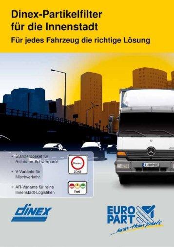 Dinex-Partikelfilter für die Innenstadt - EUROPART - europart.de