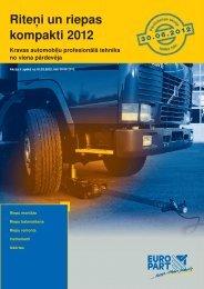 Riteņi un riepas kompakti 2012