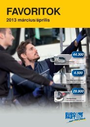 2013 március/április - EUROPART - europart.de