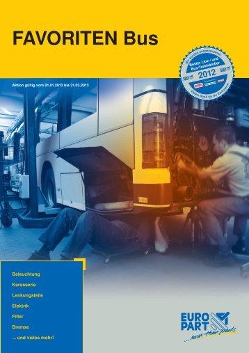 FAVORITEN Bus - EUROPART - europart.de