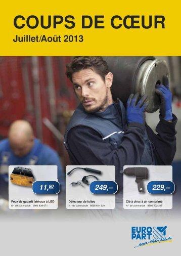 Juillet/Août 2013 - EUROPART - europart.de