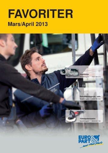 Favoriten_mars-april_2013 - EUROPART - europart.de