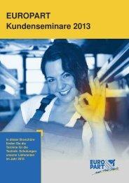 Kundenschulungen - EUROPART - europart.de