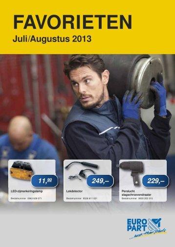 Juli/Augustus 2013 - EUROPART - europart.de