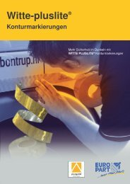 Witte-pluslite® Konturmarkierungen - EUROPART - europart.de