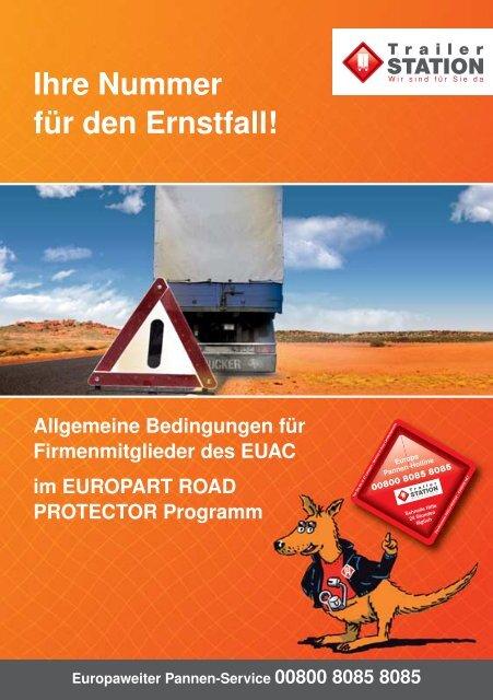 Ihre Nummer für den Ernstfall! - EUROPART - europart.de