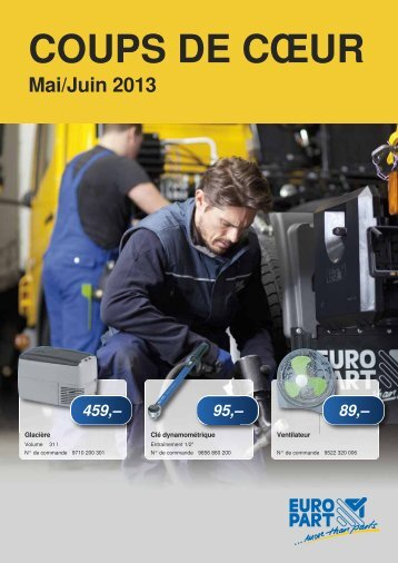 Mai/Juin 2013 - EUROPART - europart.de
