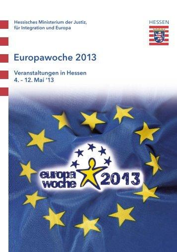 Europawoche 2013 - Hessische Europaschulen