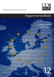 NCRE Handbook 2012 - National Centre for Research on Europe ...