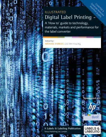 """Chapter 4 """"Substrate Selection and Print - Avery Dennison"""