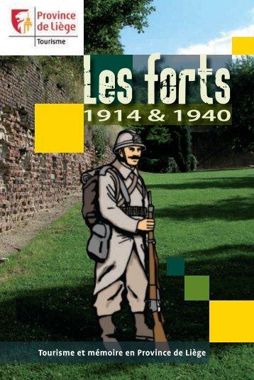 Tourisme et mémoire en Province de Liège - Fédération du ...