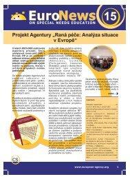 Projekt Agentury - European Agency for Development in Special ...