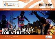 Information Bulletin - European Athletics
