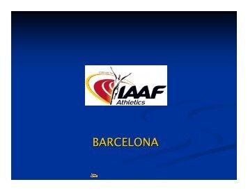 BARCELONA - European Athletics