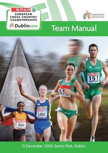 Team Manual - European Athletics