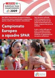 Campionato Europeo a squadre SPAR - European Athletic ...