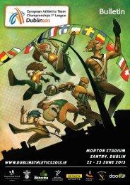 Information Bulletin - European Athletic Association