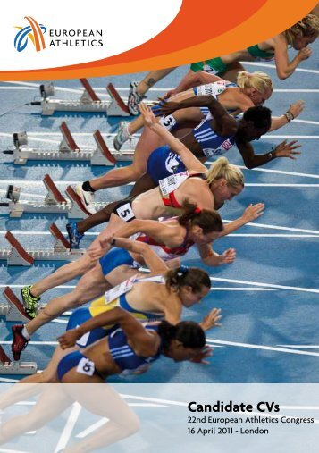 Candidate CVs - European Athletic Association