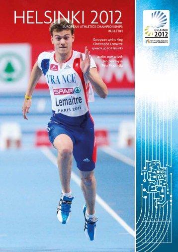 HELSINKI 2012 - European Athletics