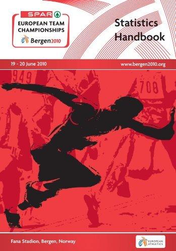 Statistics Handbook - European Athletic Association
