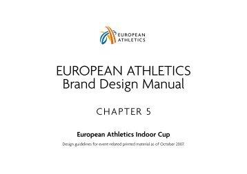 EvENT mATERIAL - European Athletic Association