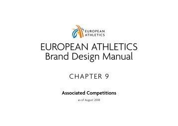 EUROPEAN ATHLETICS Brand Design Manual