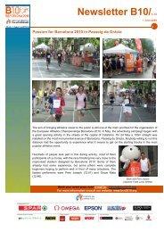 B10 Newsletter 01 Jun 2009 - European Athletic Association