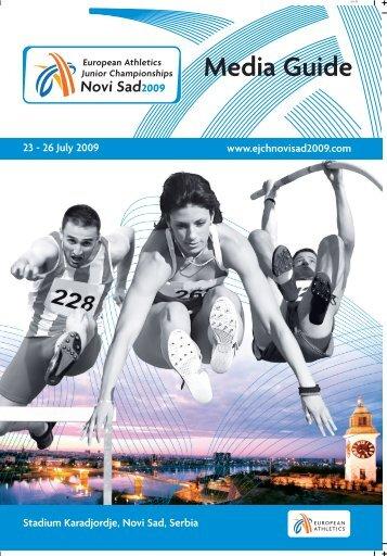 Media Guide - European Athletic Association