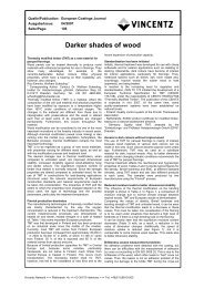 Darker shades of wood - European-coatings.com