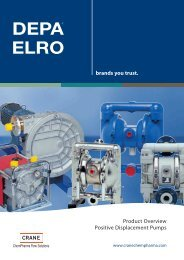 Product Overview Positive Displacement Pumps brands you trust.