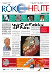Kardio-CT: ein Wunderkind mit PR-Problem - European-Hospital