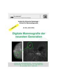 Digitale Mammografie der neuesten Generation - European-Hospital
