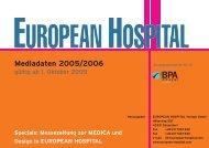 Mediadaten 2005/2006 - European-Hospital