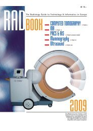 The Radiology Guide to Technology & Informatics in - European ...