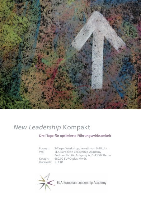 New Leadership Kompakt - European Leadership Academy
