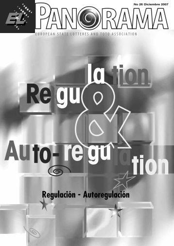 Regulación - Autoregulación - European Lotteries