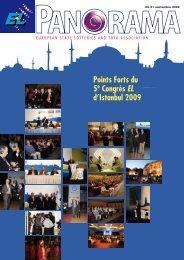 Points Forts du 5e Congrès EL d'Istanbul 2009 - European Lotteries