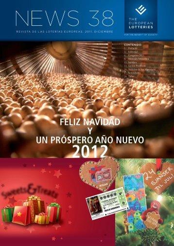 feliz navidad y un próspero año nuevo 2012 - European Lotteries