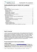 "Audioschnitt mit ""Audacity"" - European MediaCulture - Page 2"